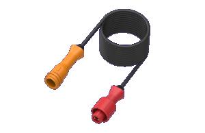 Förlängningskabel ADM - K Typ 135 cm