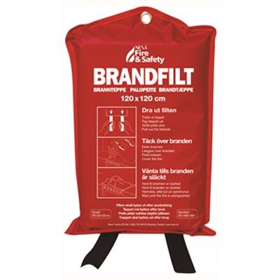 Brandfilt, 120x120cm