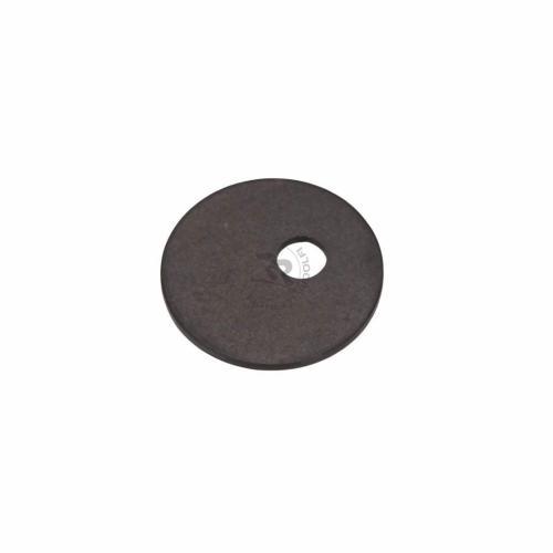 Aluminiumbricka för sätesmontering, svart