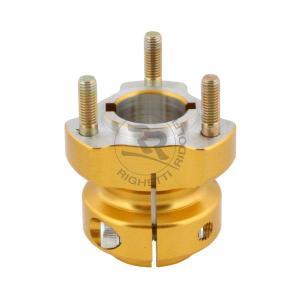 Baknav Ø30x62 mm guld aluminium