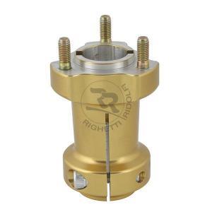 Baknav Ø30x95 mm guld aluminium