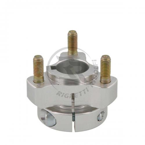 Baknav Ø25x40 mm aluminium