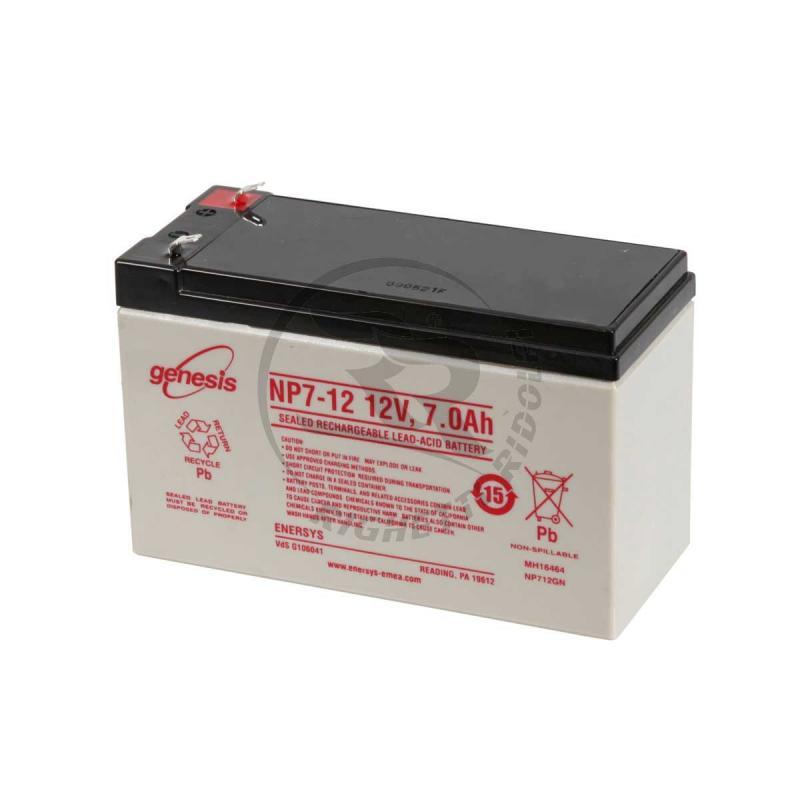 AGM Batteri 12 v 7 Ah