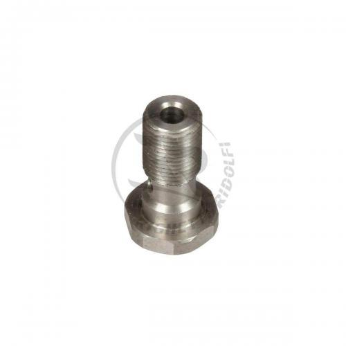 DRILLED SCREW 1/8 GAS INOX