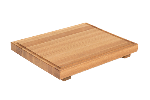 Tray with Groove and 2 Feet