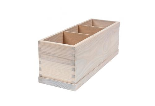 Cutlery Box with 3 compartments
