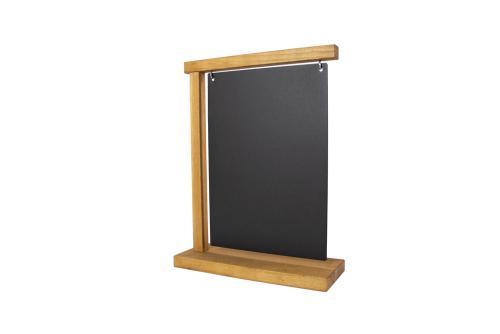 Info Display Steel Plate A4