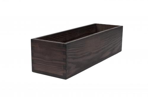 Oak box for restaurant, hotel and café