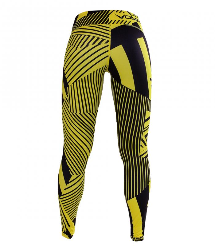 Fitted abstract yellow