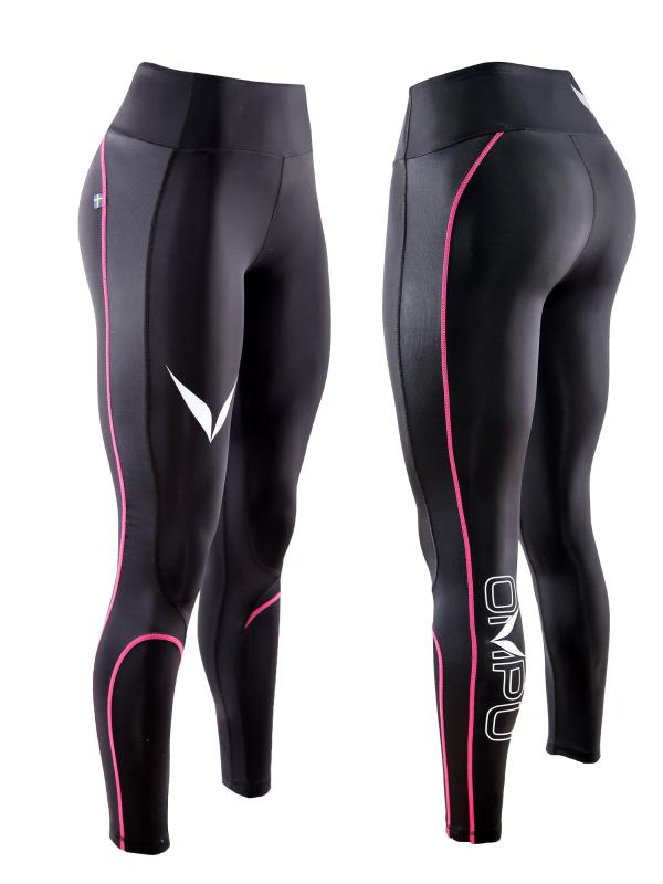 OMPU Elite Compression tight, BLK, Wmn