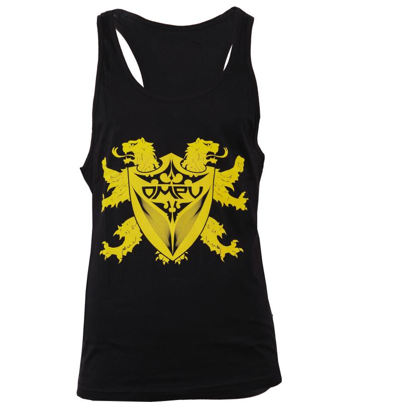 Tank top Lion -White