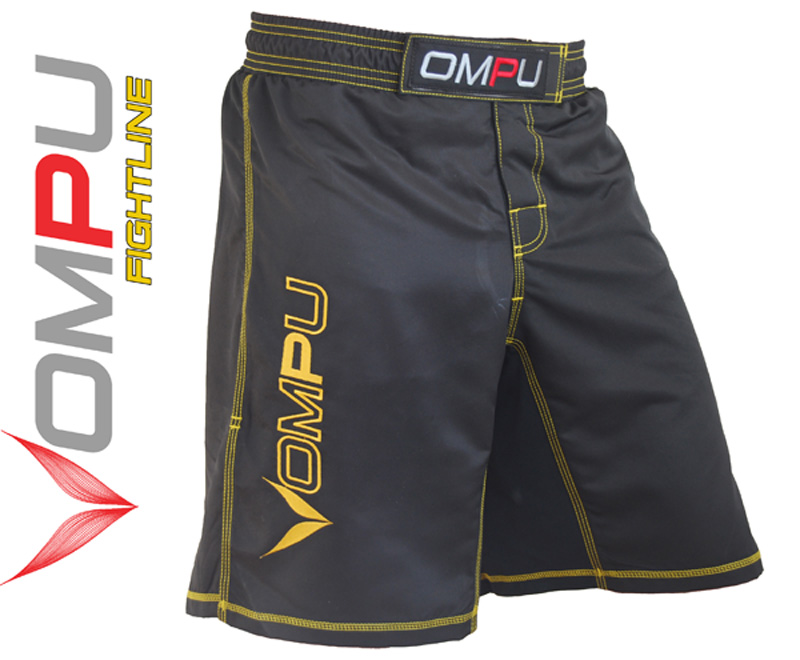 MMA grappling shorts Svarta XXL