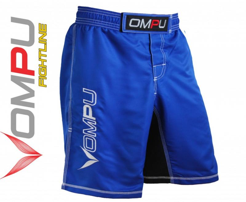 MMA grappling shorts  Blå   XXL