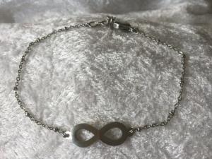 Fotlänkar stål infinity/evighet