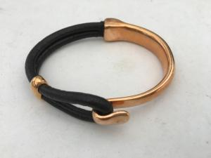Armband krok -rosé