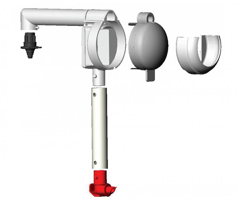 Orkla Sentomat Express Pump 11,5 mm för FELIX Ketchup, Senap & Dressing