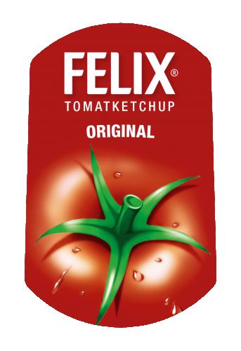 Orkla Sentomat Express Etikett FELIX Original Ketchup
