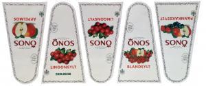Orkla Sentomat Basic Etikettark Sylt och Äpplemos