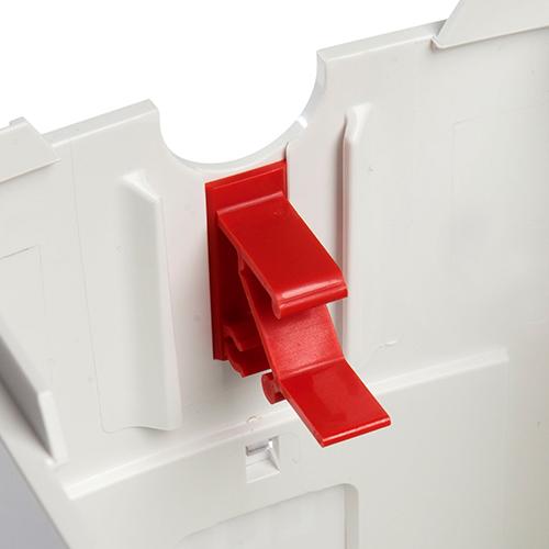 Sentomat Påshållare, Röd Clips