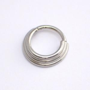 Septum Clicker, 3-ring Steel