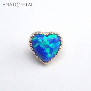 Opal Heart, 18k-Guld