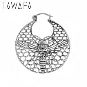 Bee Hoop, Silver Plated