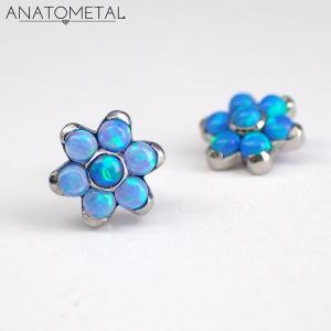 Flower, Anatometal, Blå Opalit