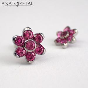 Flower, Anatometal, Ruby