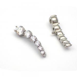 Cluster topp - Piercingsmycke med kristaller