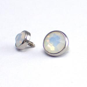 Flat Back kristall, Moonstone