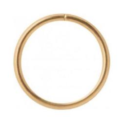 Tunn Guldring - Seamless -24k-guldpläterad