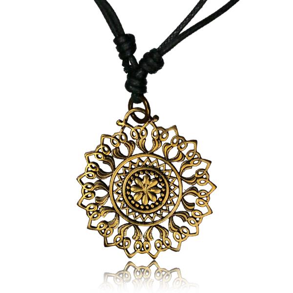 Halsband, Lotus Mandala