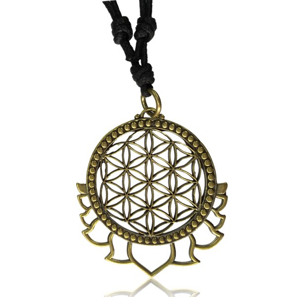 Halsband, Geometric - Flower of Life