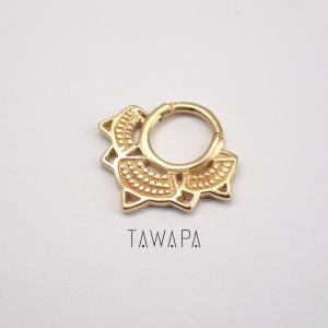 Lotus, Septum, Gold