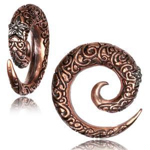 Spiral, Expander i brons med ornamenter och stjärna