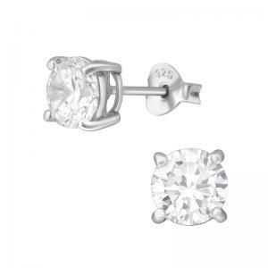 Kristallörhängen 6mm