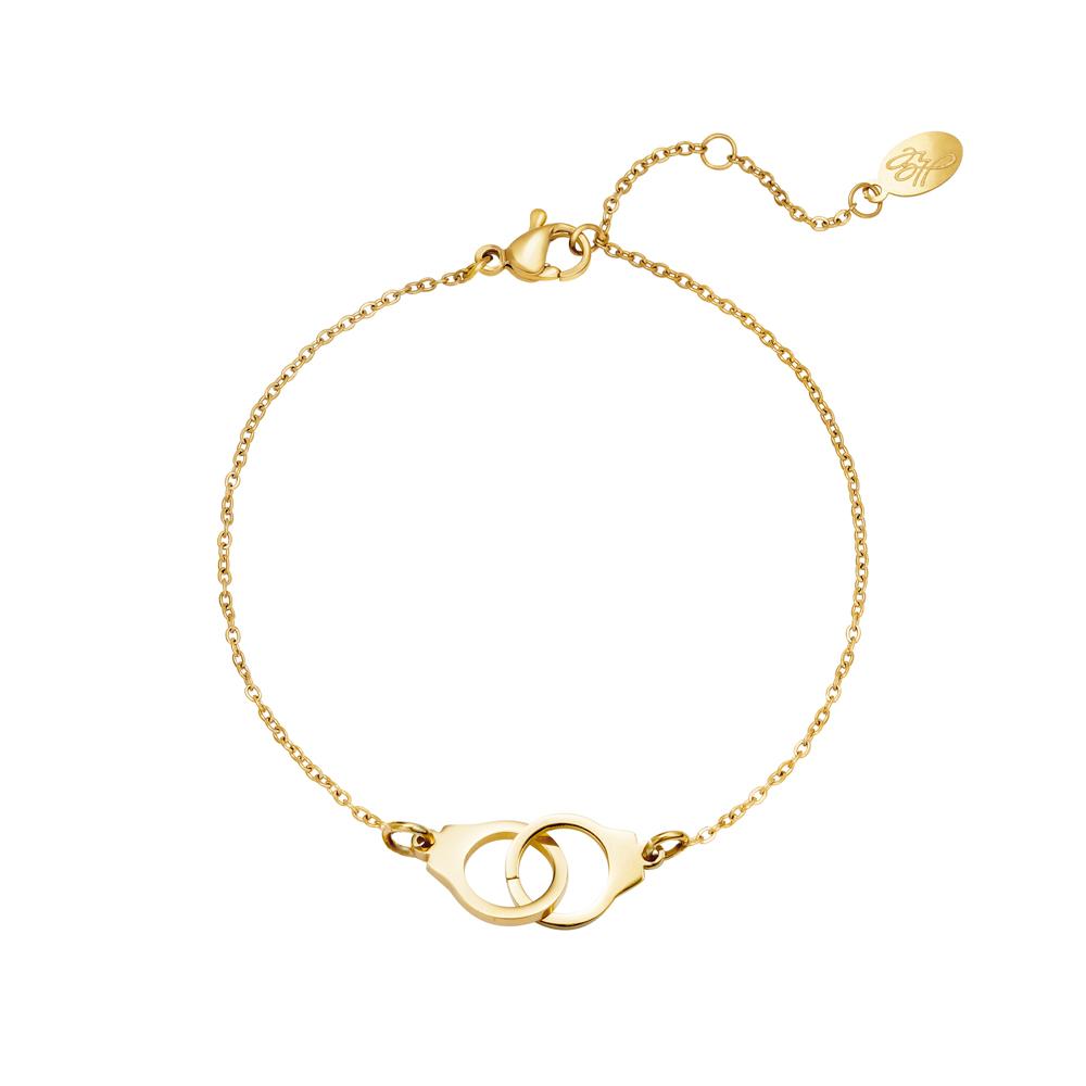 Armband guld - Handbojor - Kirurgiskstål