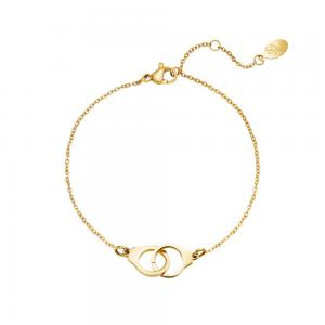 Armband guld - Handbojor - Kirurgiskt stål