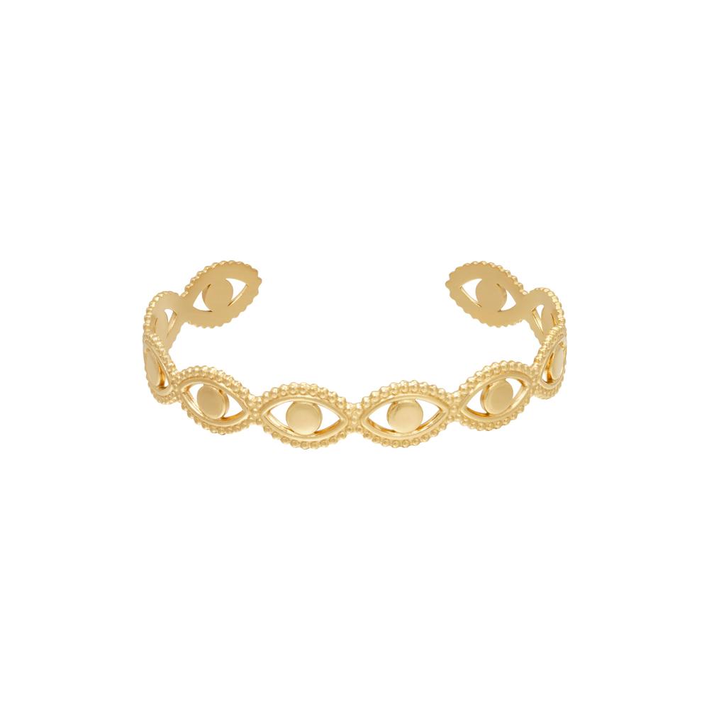 Armband guld - Kirurgiskt stål - Öga