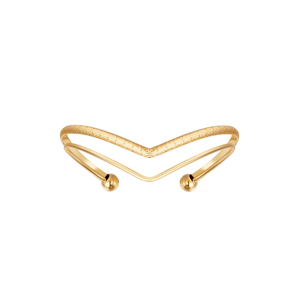 Armband guld - Kirurgiskt stål - Venus