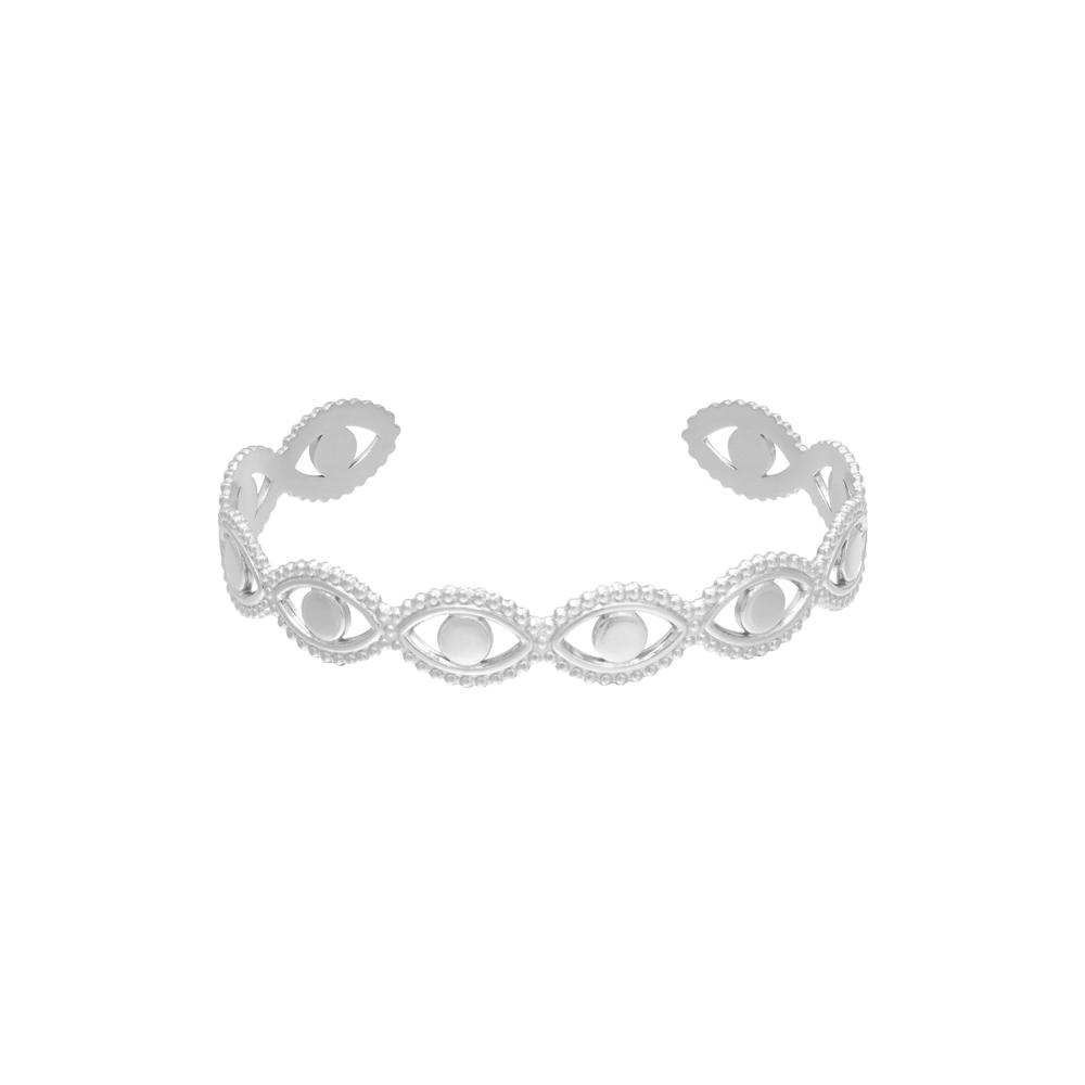 Armband i kirurgiskt stål - Öga
