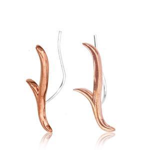 Ear Climbers - Örhängen i koppar