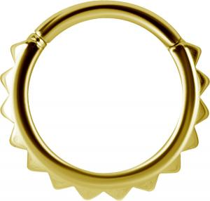 Clicker Ring, Golden Steel