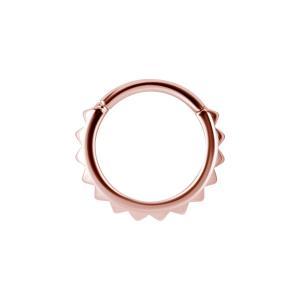Clicker Ring - Roséguld - Piercingsmycke