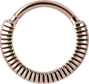 Clicker Ring, Roséguld