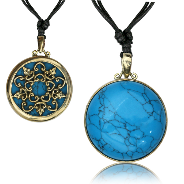 Halsband, Picasso Turquoise