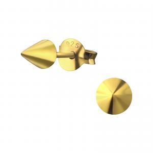 Örhängen Studs - Gold Cone