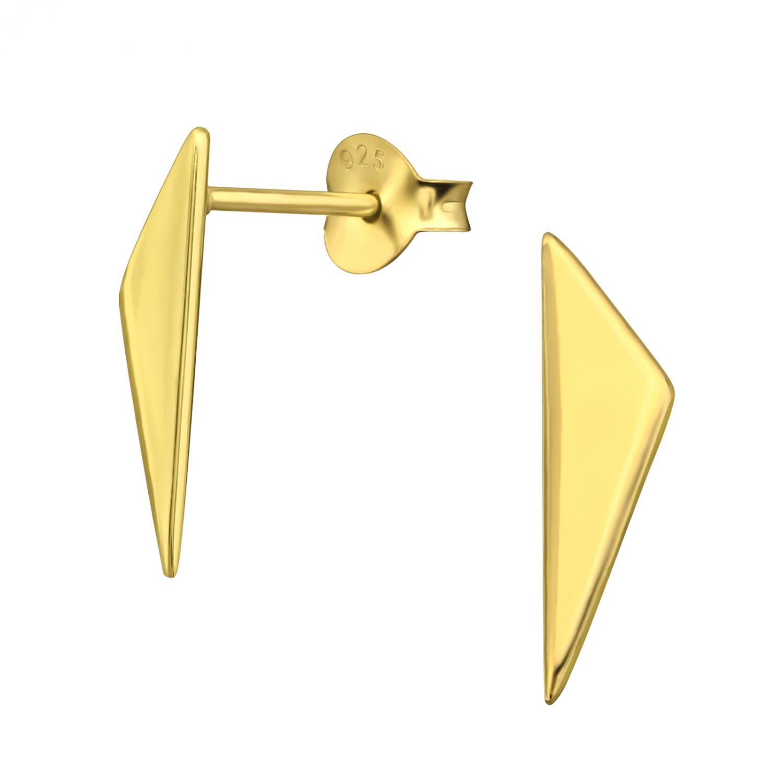 Örhängen Studs - Golden Shield