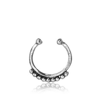 Ear Cuff / Fake Septum i äkta silver