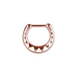 Septumsmycke - Roséguld - Ring till piercing